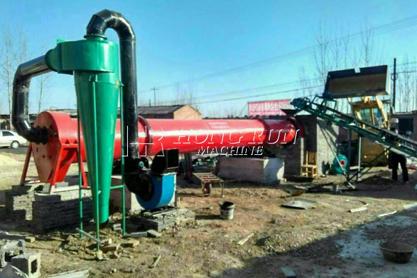 Grain dryer machine for all kinds of agricultural goods