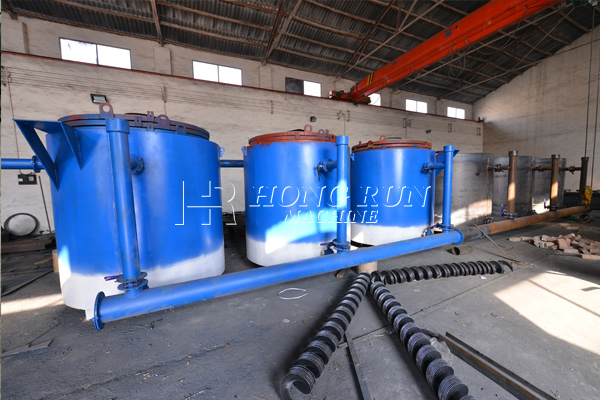 Carbonizate Single Tank Furnace