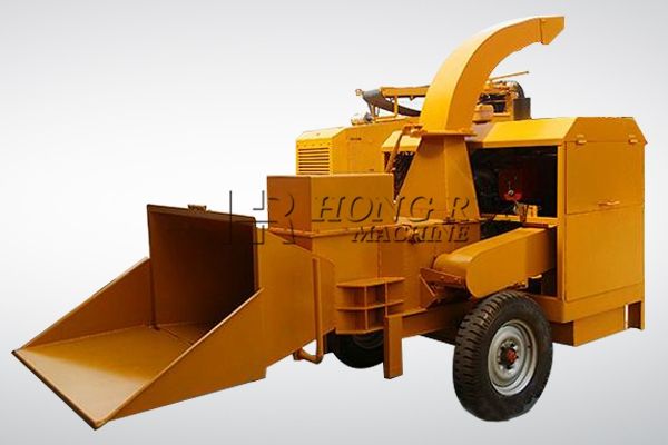 Tree Branch Crusher Machine