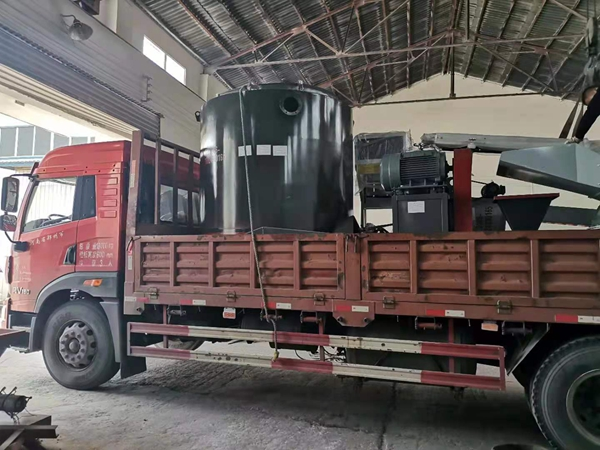 Charcoal Production Line Export